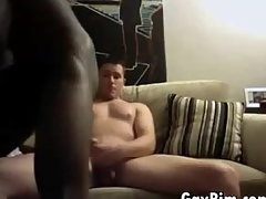 Amatuer Interracial gay Shore up steady