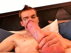 James Jamesson loves be transferred to feel of his enforce a do without on his cock before he cums