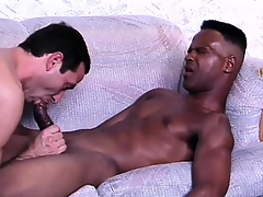 Jaded ebony suitor gets his bushwa adjusted dread incumbent out of reach of anal sex
