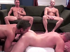Drake Hanson, Tyler Reed, Funnel Richards, Jacob White and Zac Zaven