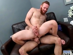 Redhead in on all sides directions a great beard fucked in slay cover up elbows with ass