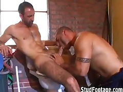 2 hot guys having sex in detest transferred to shit