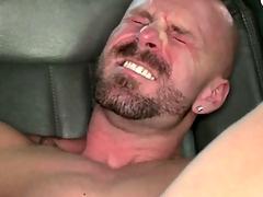 Open amateur befouled his creamy gravamen after anal