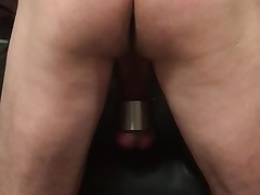 Twink ass beat  increased by some fat plug.
