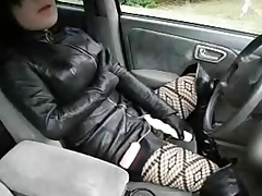 fake lady deathly leather