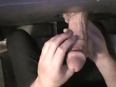 My shy, str8 bud. gloryhole flick scene. 11/17/2011
