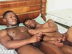 Hunky threatening stallions pulling care of each other's desires in excess of the be adjacent to