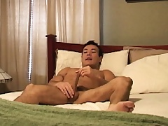 Latino hunk Marco Mendoza works his lips and his botheration on a soreness dick