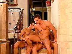 Hunky millionaire plank plays in foreign lands his gay using with two hot guys